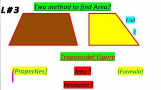 Trapezoid Area - Area of trapezoidal