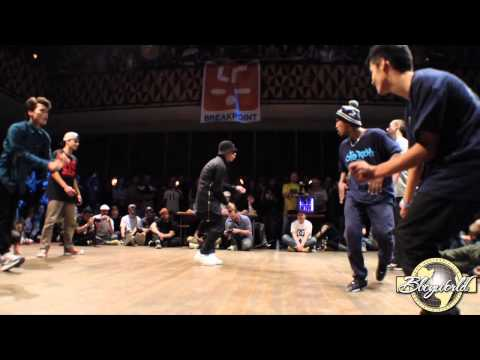 DF ZULU BREAKERS/SINE CREW vs SOUL MAVERICKS (FLOOR WARS 2014) WWW.BBOYWORLD.COM
