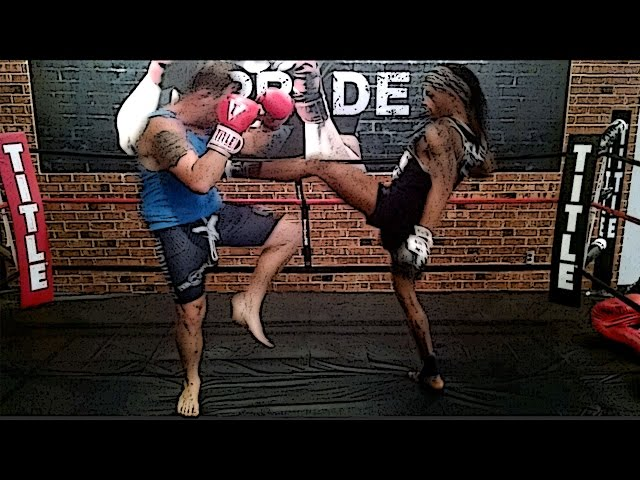 Muay Thai for fight