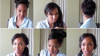 6 Humid & Rainy Day Hairstyles (Part 1)