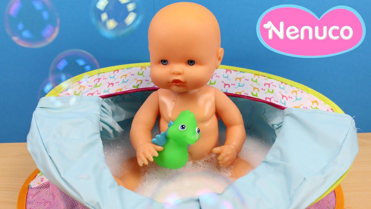 Ba era bolso y cuna de viaje de beb nenuco 3 en 1 for Banera bebe con patas