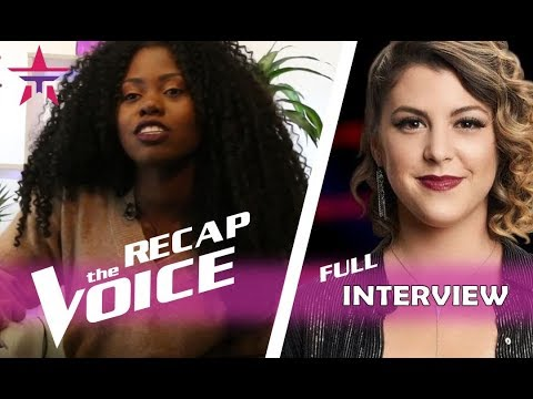 Shilo Gold (Team Miley) Recaps 'The Voice Battles' In Fun Interview | The Voice 2017