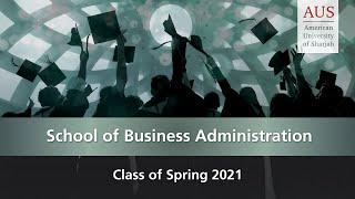 Celebrating the Class of Spring 2021 - SBA
