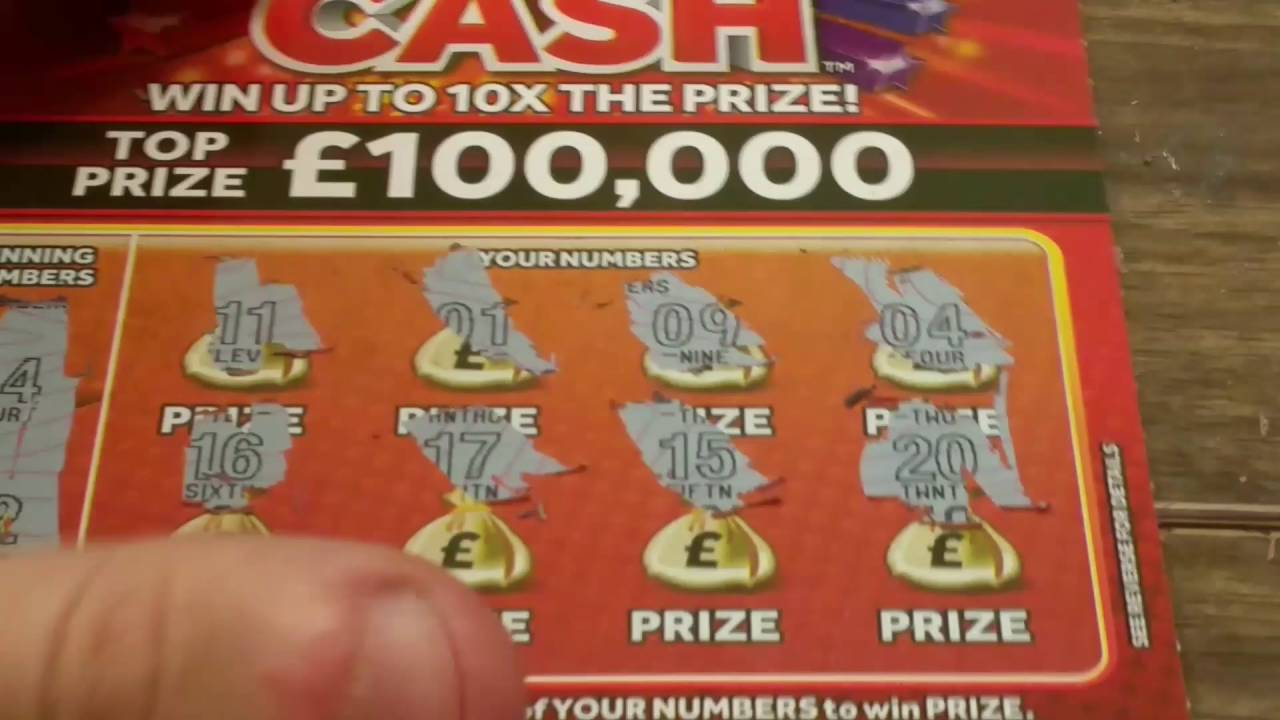 WOW JACKPOT Full Pack of 10x Cash - Scratch Cards -National Lottery