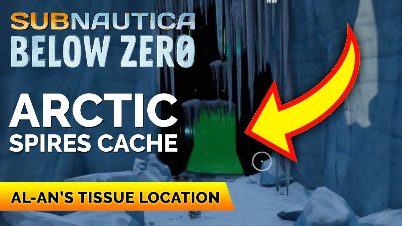 Download Arctic Spires Cache Location   Subnautica Below Zero