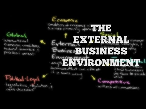Episode 167: The External Business Environment