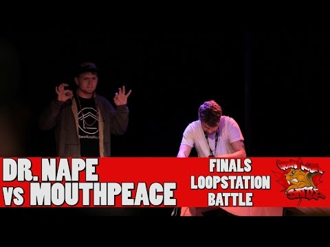 Dr. Nape vs MouthPEACE - GNB 2017 - Loopstation Finals