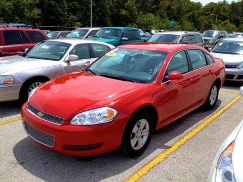 2012 Chevy Impala Ls Review Walkaround Start Up Amp Rev
