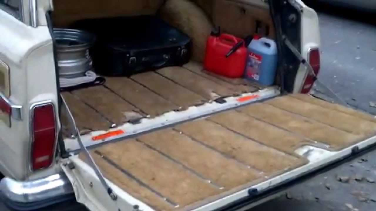 Jeep Grand Wagoneer >> Jeep Grand Wagoneer - opening tailgate :) - YouTube
