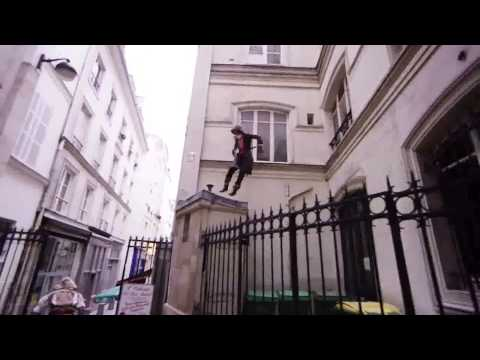 Assasin Creed Unity | Parkour real life + Rapstep
