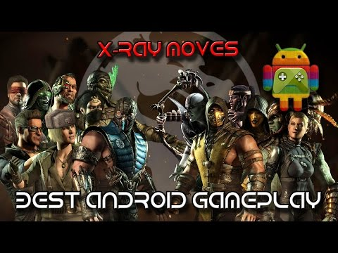 Mortal Kombat X - All X Ray Moves Android 1080p