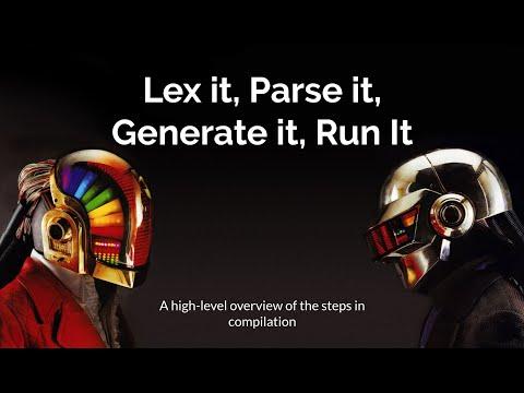 devICT: Lex it, Parse it, Generate it, Run it