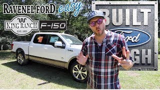 Here's a Tour of a $61,000 Ford F150 King Ranch 2018 w/EcoBoost Twin Turbo | American Luxury Truck