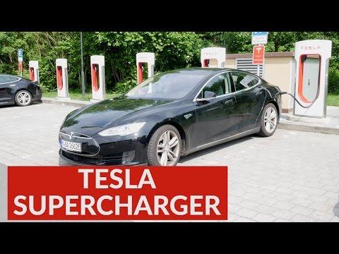 Tesla Supercharger 2017 - Kosten, Strafgebühren und mehr