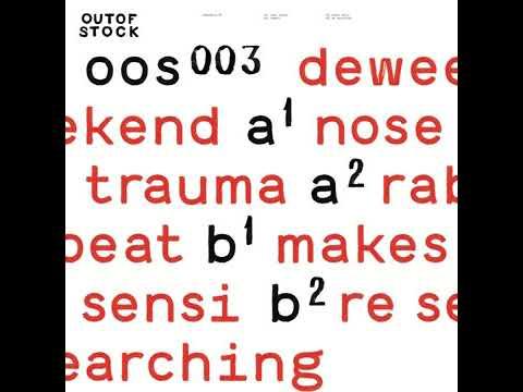 deweekend - nose trauma