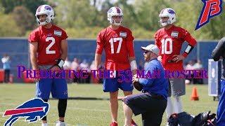 Predicting the 2018 Buffalo Bills 53 man roster