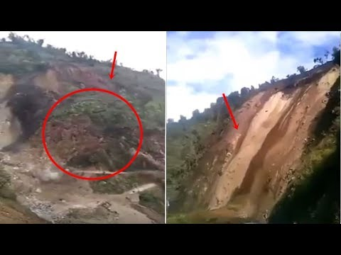Massive Landslide in Arunachal Pradesh