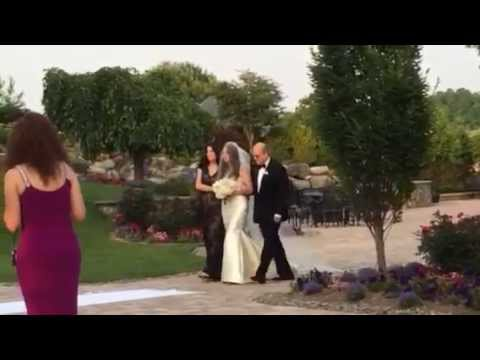Bride Walking Down Aisle to 'A Thousand Years'