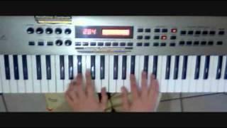 Montuno de piano en Clave 3x2