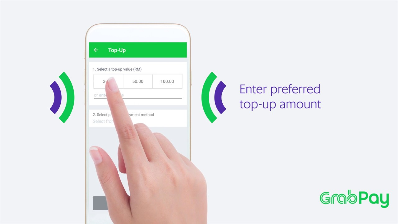 How to top up GrabPay using Cash (Malaysia)