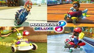EL RETO DEFINITIVO DE COMBINACIONES RANDOM DE MARIO KART 8 DELUXE | Nintendo Switch