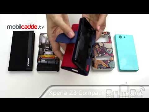 Sony Xperia Z3 Compact Kılıf İnceleme