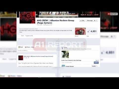 A1 Report - Ne pranga dhe i 4-ti i hackerave AHG, sulme grekeve e serbeve