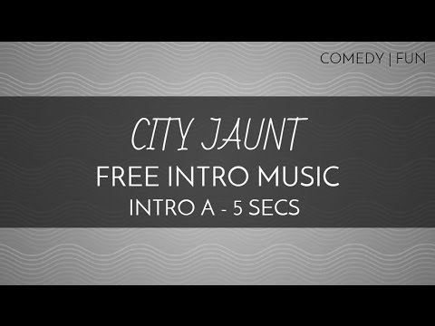 New! Free Intro Music - 'City Jaunt' - (Intro A - 5 seconds) - Comedy   Fun - OurMusicBox