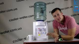 Обзор Кулер для воды HotFrost D95F  Настольный аппарат для нагрева питьевой воды