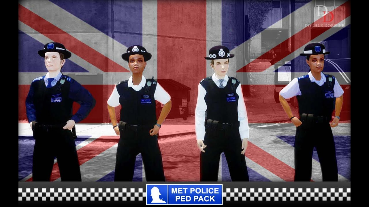 GTA IV Mod - Met Police - FEMALE Officers ► DOWNLOAD