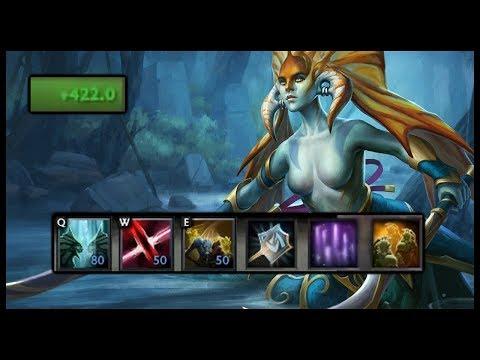 Dota 2 Mods   MASSIVE HP REGEN ILLUSIONS!!   Baumi Plays Legends Of Dota