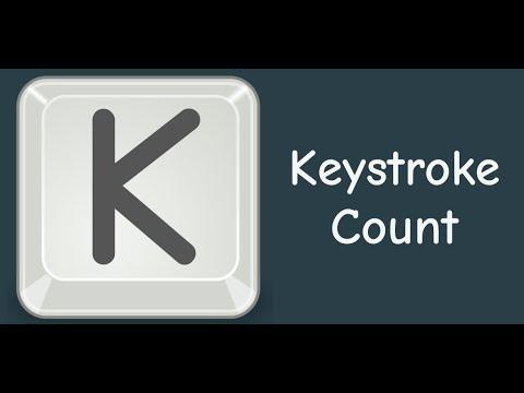 Download Keystroke Count - Data for your keystrokes