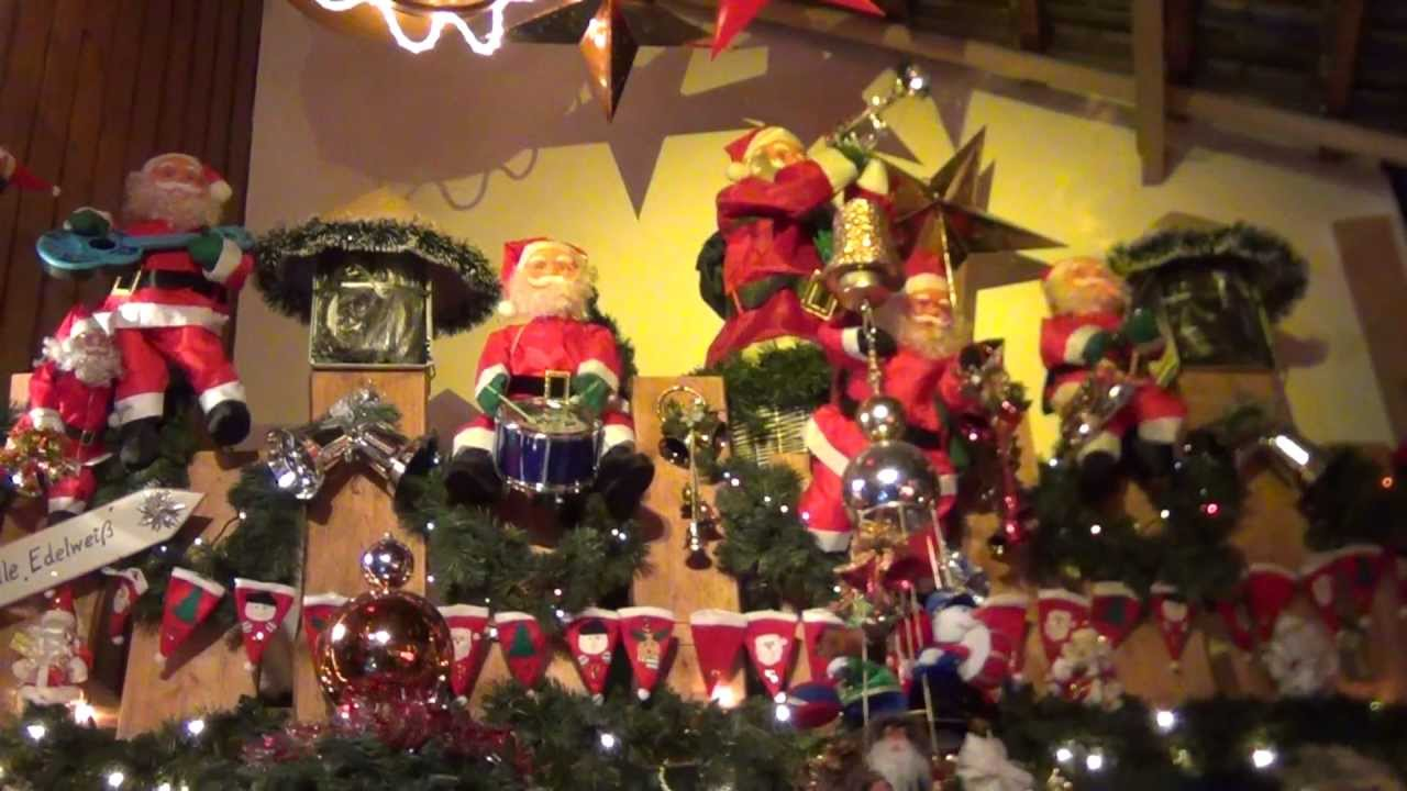 2011 Weihnachtsscheune in Hellingen (Thüringen): - YouTube