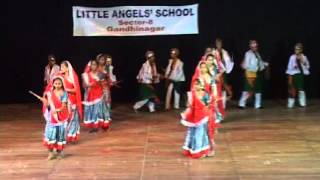 little angel school raas-garba