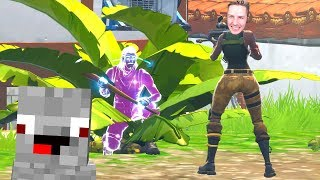 Search & Hide with the Fortnite Galaxy Skin (possibly 😂) Alphastein & rewinside