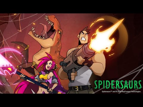 Spidersaurs (by WayForward Technologies, Inc.) Apple Arcade (IOS) Gameplay Video (HD)