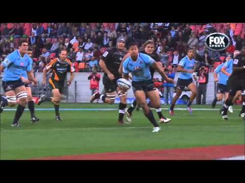 Rugby HQ: Chasing Israel Folau's top Superugby try