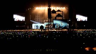 Big Bang - T.O.P Birthday Song (Alive Galaxy Tour Malaysia) [Fancam HD Far-view] 121027