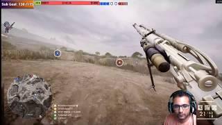 Battlefield 1 Exterminio con el Centinela en AchibAba