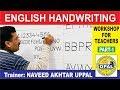 OPAL English Handwriting Workshop for Teachers-Part 1