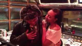 Sheléa Records W Narada Michael Walden On Whitney 39 S Favorite Mic At Tarpan Studios