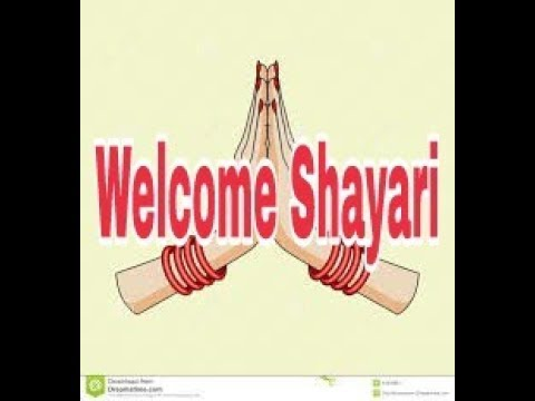 Welcome Shayari In Hindi Youtube