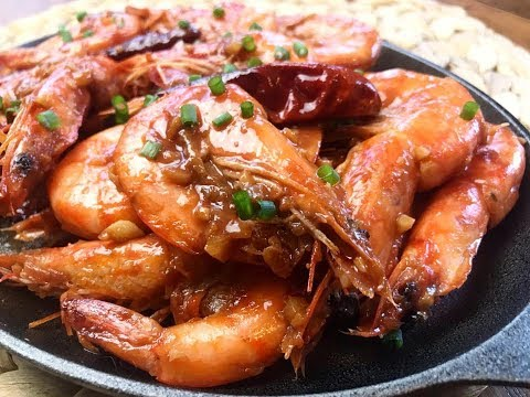 Garlic Shrimp With Oyster Sauce