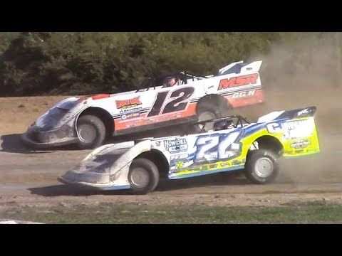 Topless RUSH Crate Late Model Heat One | Genesee Speedway | 9-16-18