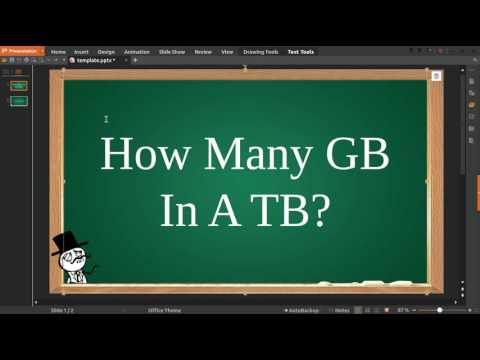 How Many GB In A TB