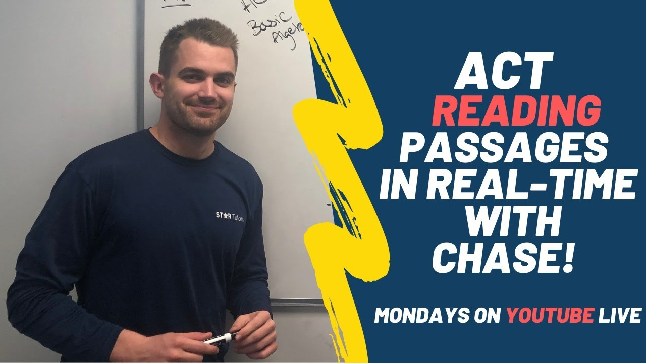 - ACT Reading - Complete Practice Reading Passages With Chase And