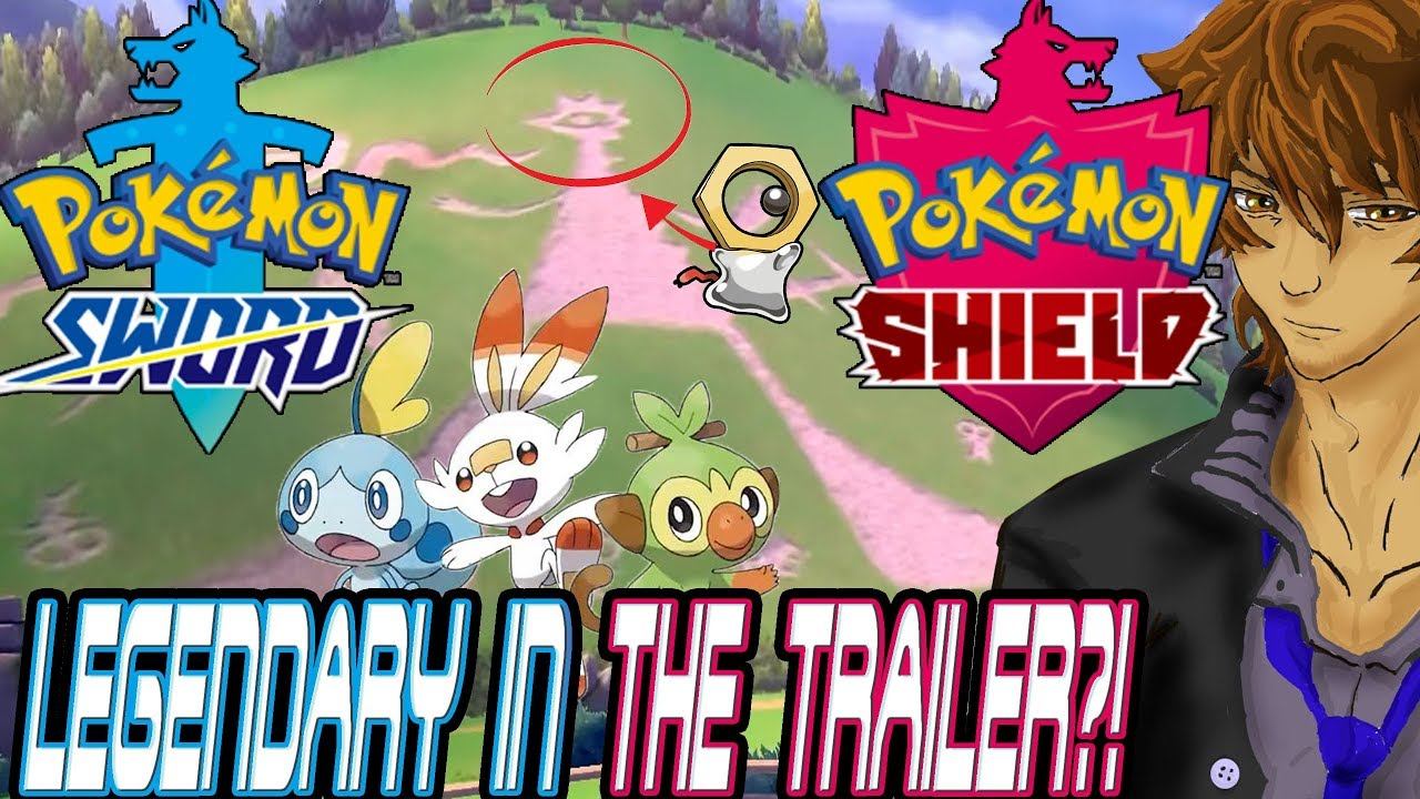 Pokemon Sword And Shield New Gen 8 Legendary In The Trailer Youtube