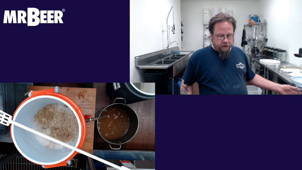 Download Lautering & Sparging Process for All-Grain Brewing