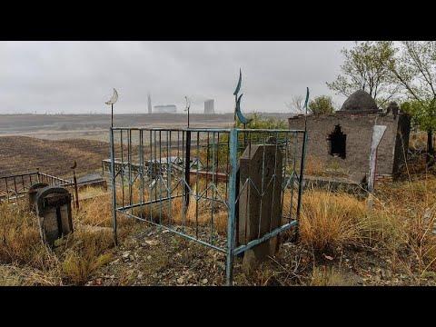 Çin tarafından yok edilen Uygur mezarları uydu görüntülerinde