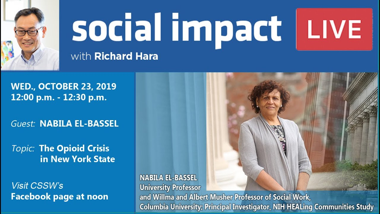 Social Impact LIVE: Reducing Opioid Deaths in NY State